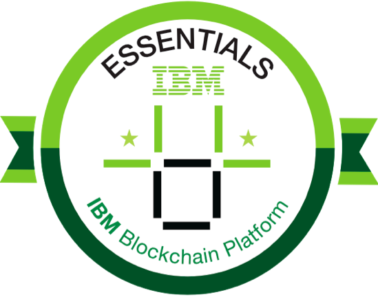 badge for blockchain