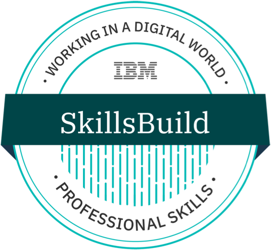 badge for professionalskills