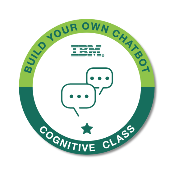 badge for Build your own Chatbot