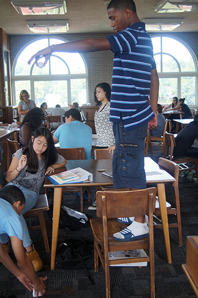 Thumbnail of students in a classroom for case study excelsior students make most of summer